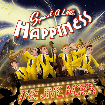 Jive Aces - Spread a Little Happiness